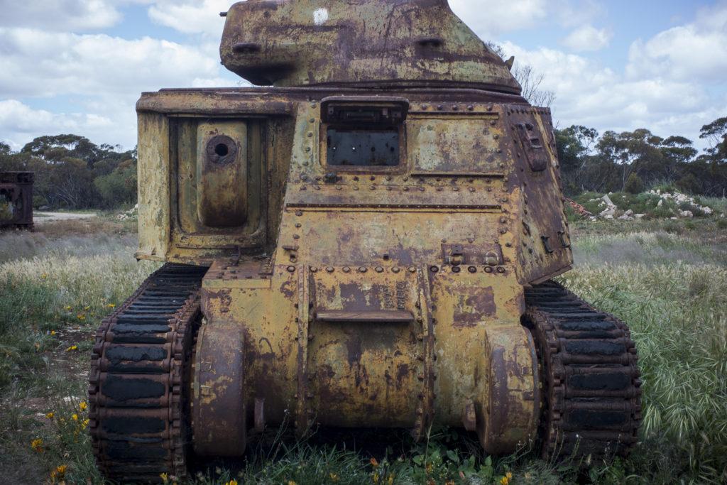 tank, Murrayville