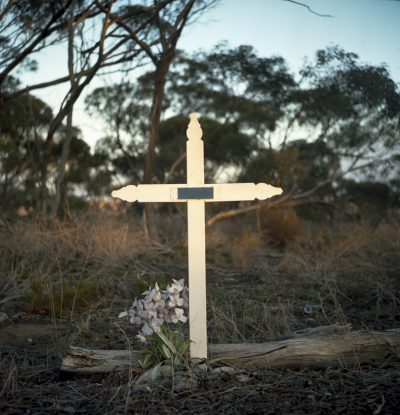 cross, Karoonda Highway