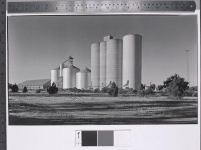 Ian Harrison Hill. Sea Lake Silos, 1962 (State Library Victoria)