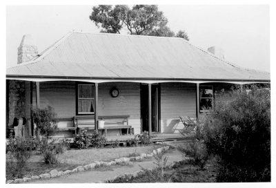 John T Collins, Albzacutya homestead, Jeparit, 1979, (SLV)