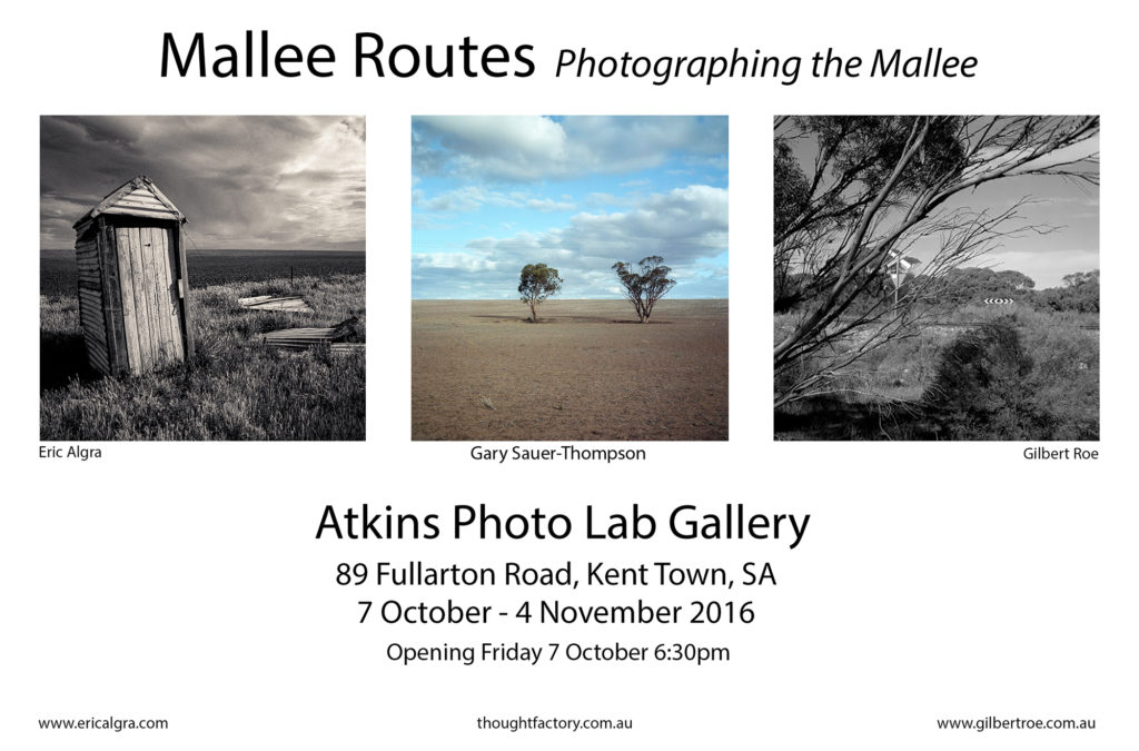 Poster, Mallee Routes
