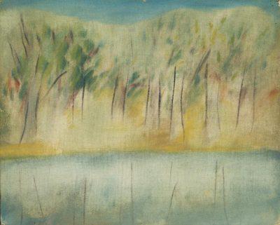 Sidney Nolan Wimmera River, 1942