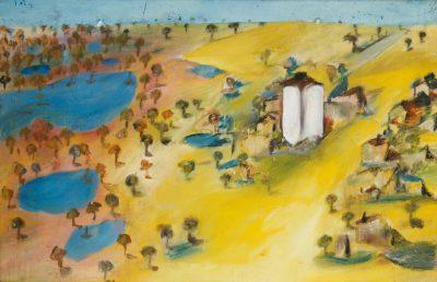 Sidney Nolan, Wimmera (from Mt Arapiles), 1943
