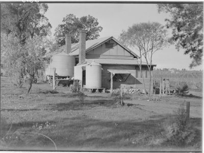 settlers home, 1945-54
