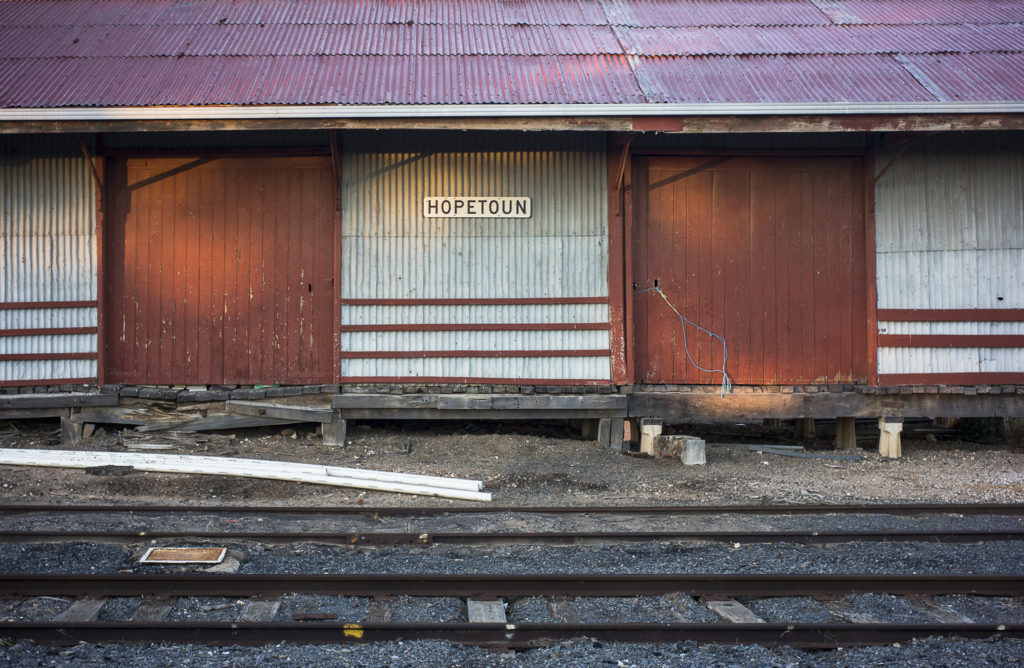 railway shed, Hopetoun Wimmera